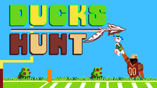 Ducks Hunt: A Rose Bowl Parody Game